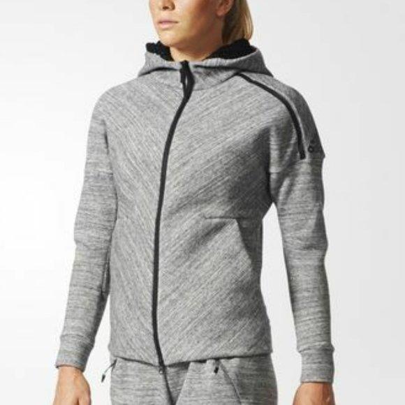 Despertar bostezando Converger  adidas Tops   Adidas Originals Zne Hooded Jacket Sz M   Poshmark